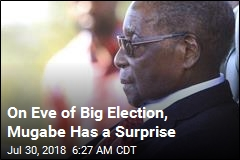 Just Before Election, Mugabe Has One More Surprise