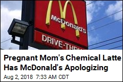 Pregnant Mom's Chemical Latte Has McDonald's Apologizing