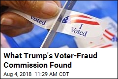 What Trump's Voter-Fraud Commission Found