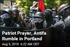 Patriot Prayer, Antifa Rumble in Portland