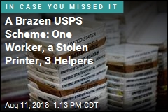 A USPS Worker, a Stolen Printer, and a Lot of Fake Money Orders