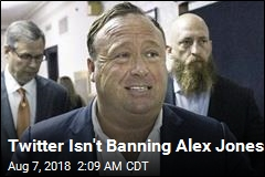 Alex Jones Banned From YouTube, Still Active on Twitter