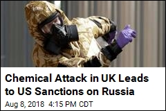 US Will Sanction Russia After UK Nerve Agent Attack