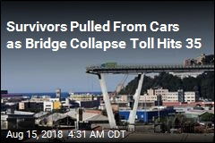 Survivors Pulled From Cars as Bridge Collapse Toll Hits 35