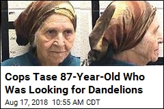 Elderly Woman Hunting for Dandelions Ends Up Tased