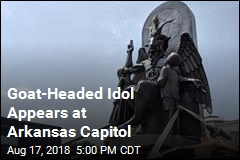 Goat-Headed Idol Appears at Arkansas Capitol
