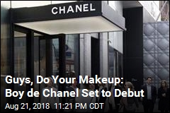 Chanel Announces New Men's Makeup Line