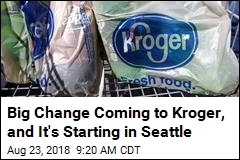 Kroger to Dump All Plastic Bags by 2025