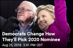 Democrats Change How They'll Pick 2020 Nominee