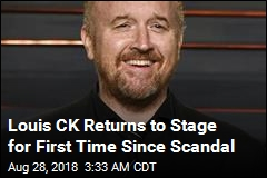 Louis CK Returns to Stage for First Time Since Scandal
