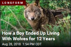 Meet the Man Who Says He Was Raised by Wolves