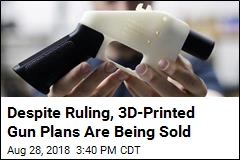 Despite Ruling, 3D-Printed Gun Plans Are Being Sold
