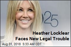 Heather Locklear Charged Over Drunken Disturbance
