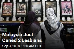 Malaysia Just Caned 2 Lesbians