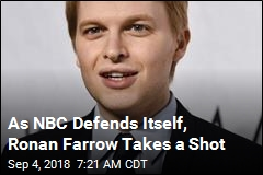 As NBC Defends Itself, Ronan Farrow Takes a Shot