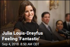 Julia Louis-Dreyfus Feeling 'Fantastic'
