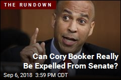 Can Cory Booker Really Be Expelled From Senate?