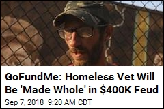 GoFundMe: Homeless Vet Will Be 'Made Whole' in $400K Feud