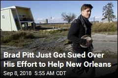 New Orleans Residents Sue Brad Pitt Over Shoddy Homes