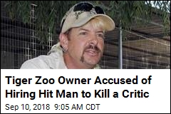 Tiger Keeper 'Joe Exotic' Allegedly Hired a Hit Man