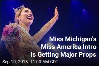 Miss Michigan Uses Miss America Intro to Call Out Flint Water Crisis