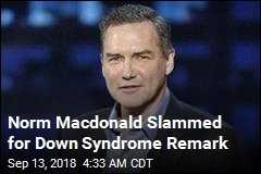 Norm Macdonald Slammed for Down Syndrome Remark