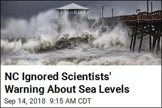 NC Ignored Scientists' Warning About Sea Levels
