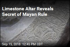 Ancient Altar Shows Mayan 'Game of Thrones'