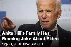 Anita Hill's Family Has Running Joke About Biden