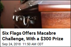 Six Flags Offers Macabre Challenge, With a $300 Prize