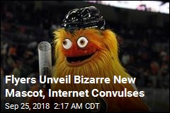 Flyers Introduce Bizarre New Mascot