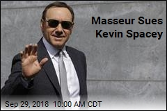 Masseur Sues Kevin Spacey