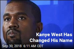 Kanye West Has Changed His Name