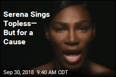 Serena Sings 'I Touch Myself' for a Cause