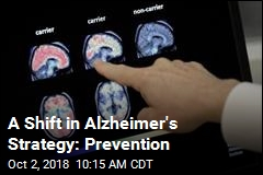 Researchers Explore New Alzheimer's Tack: Prevention