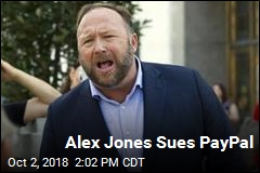 Alex Jones Sues PayPal