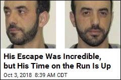 His Escape Was Incredible, but His Time on the Run Is Up