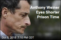Anthony Weiner Eyes Shorter Prison Time