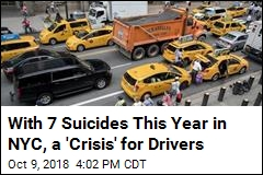 With 7 Suicides This Year in NYC, a 'Crisis' for Drivers