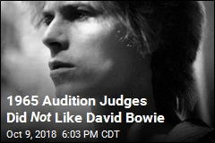1965 Audition Judges Did Not Like David Bowie