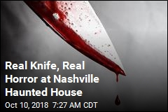 Real Knife, Real Horror at Nashville Haunted House