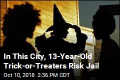 In This City, 13-Year-Old Trick-or-Treaters Risk Jail