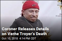 Coroner: Verne Troyer's Death Was Suicide by Alcohol Abuse