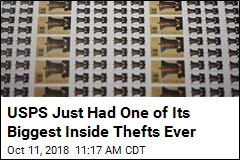 USPS Just Had One of Its Biggest Inside Thefts Ever