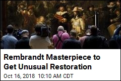 Rembrandt Masterpiece Will Be Restored Before Our Eyes