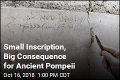 History Books May Be Off on Pompeii