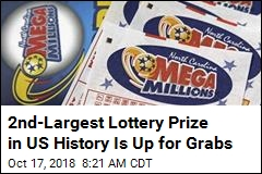 2nd-Largest Lottery Prize in US History Is Up for Grabs