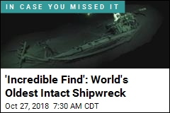 'Incredible Find': World's Oldest Intact Shipwreck