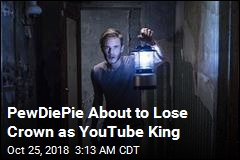 PewDiePie About to Lose Crown as YouTube King