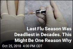 Last Flu Season Was Deadliest in Decades. This Might Be One Reason Why